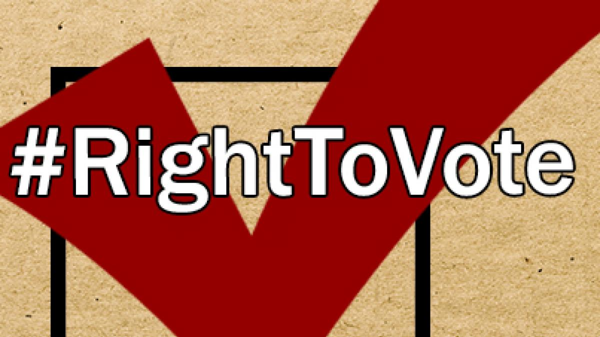 the right to vote It has been nearly a century since women won the battle for the right to vote with   men fighting for suffrage across the country and right here in northeast ohio.
